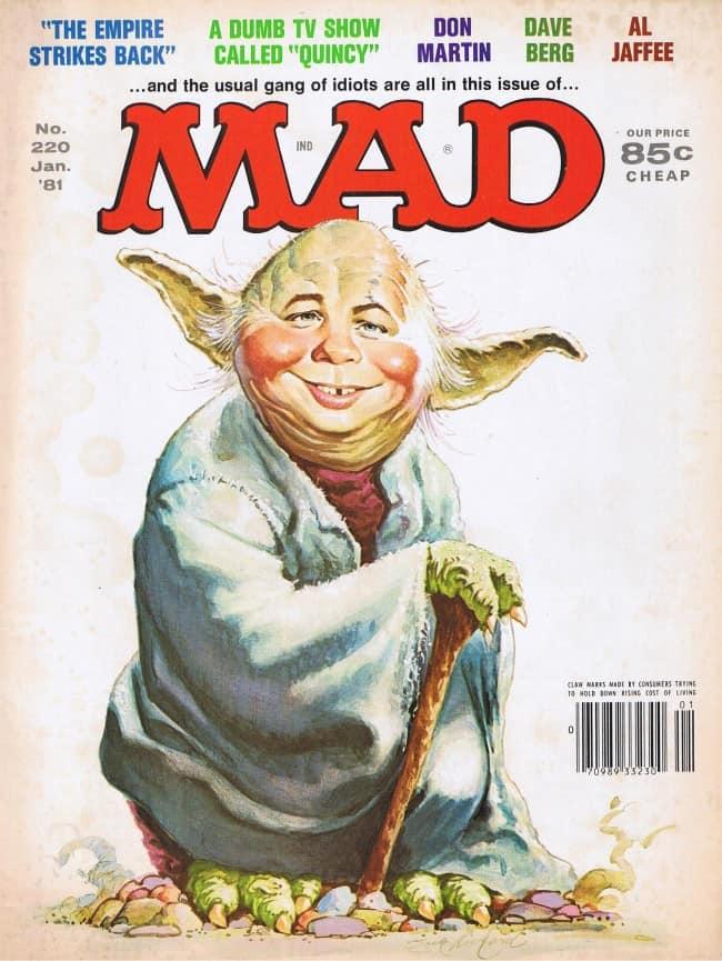 Mad Magazine 220