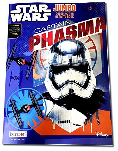 Star Wars Jumbo Coloring & Activity Book: Captain Phasma