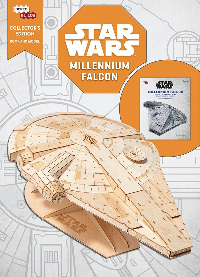 Star Wars Incredibuilds: Millennium Falcon Collectors Book and Model