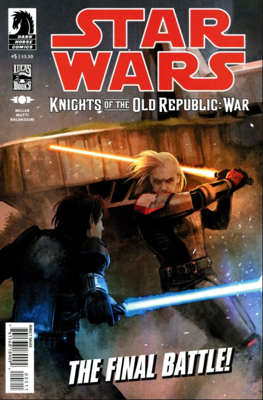 Star Wars Knights of the Old Republic: War 5