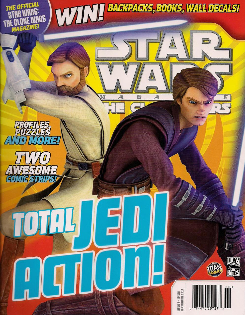 Star Wars The Clone Wars Magazine 6