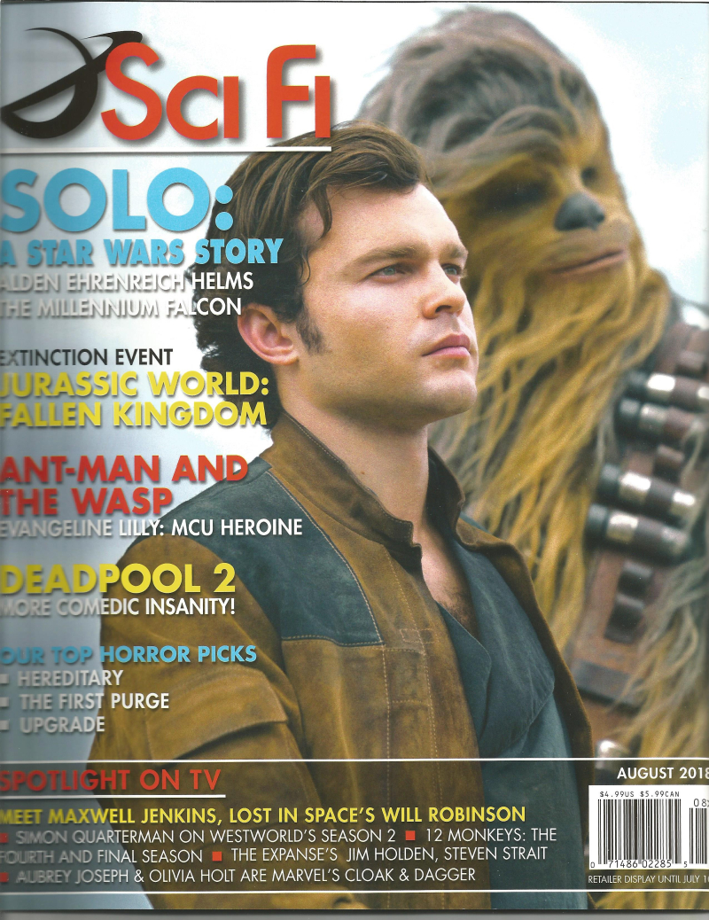 SciFi  Magazine August 2018