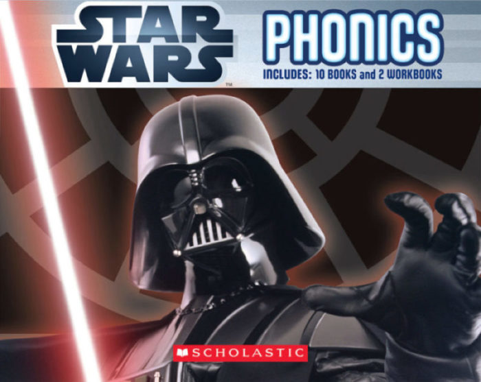 Star Wars Phonics: Includes 10 Books and 2 Workbooks