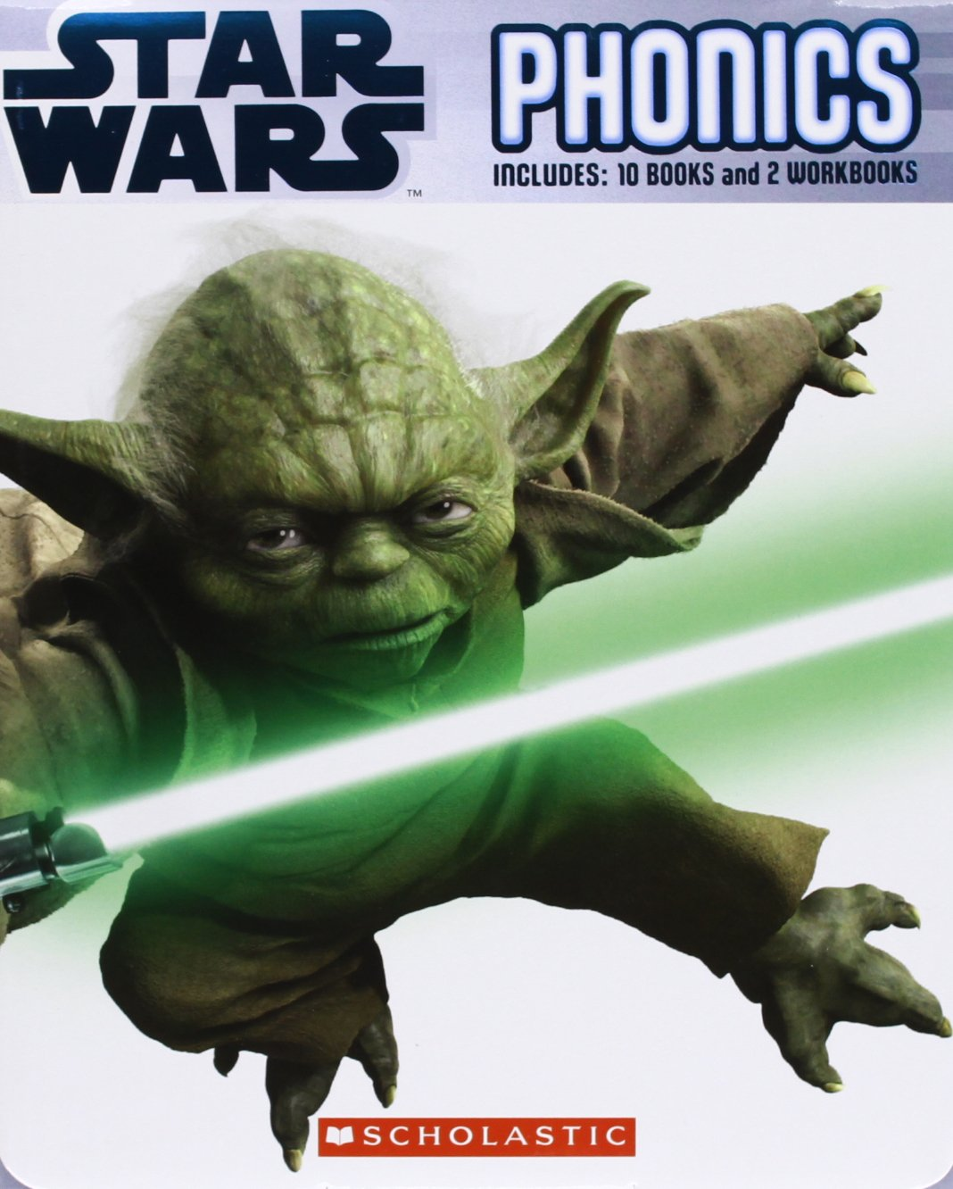 Star Wars Phonics Pack 2: Includes 10 Books and 2 Workbooks