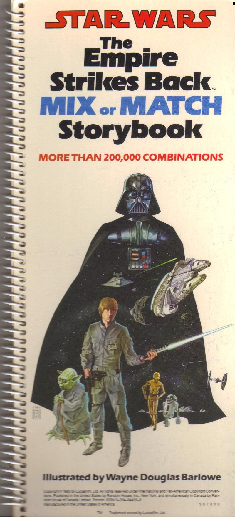 Star Wars: The Empire Strikes Back Mix or Match Storybook