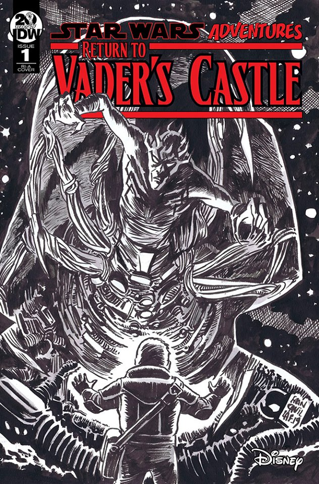 Star Wars: Return to Vader's Castle 1 Cover A Francavilla Sketch