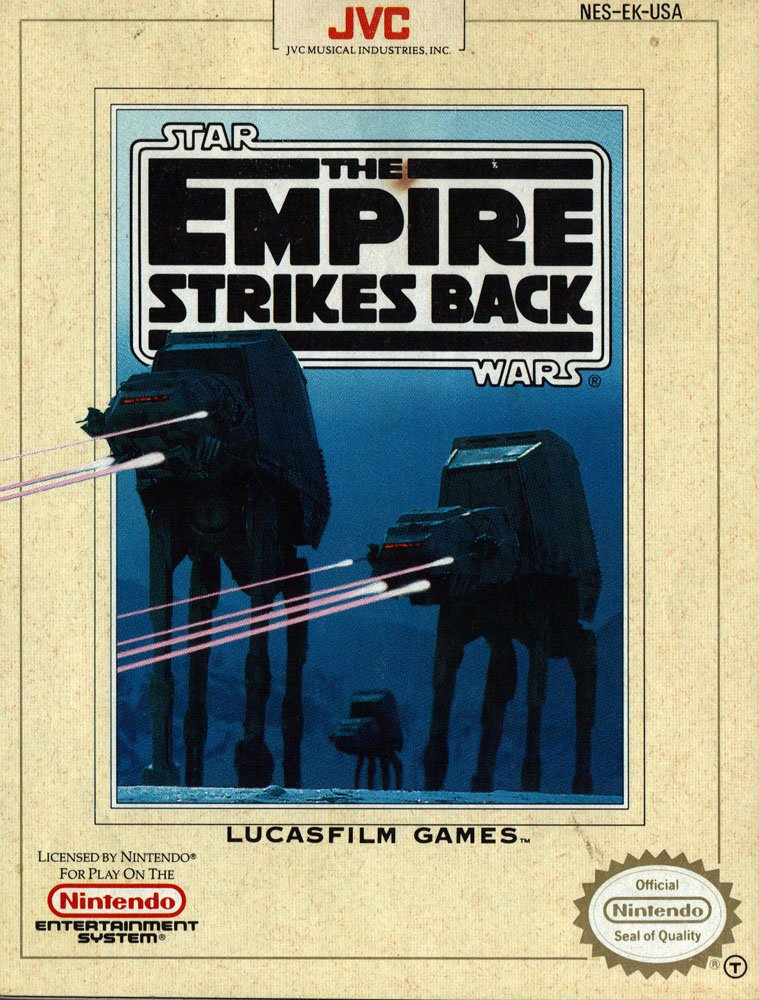 Star Wars: The Empire Strikes Back (1991 Nintendo Video Game)