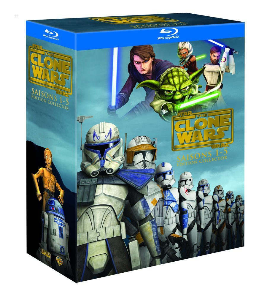 Star Wars: The Clone Wars Seasons 1-5 Collector's Edition