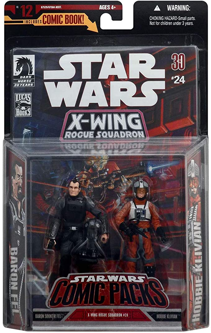Star Wars X-Wing: Rogue Squadron 25 (Hasbro Two-Pack)