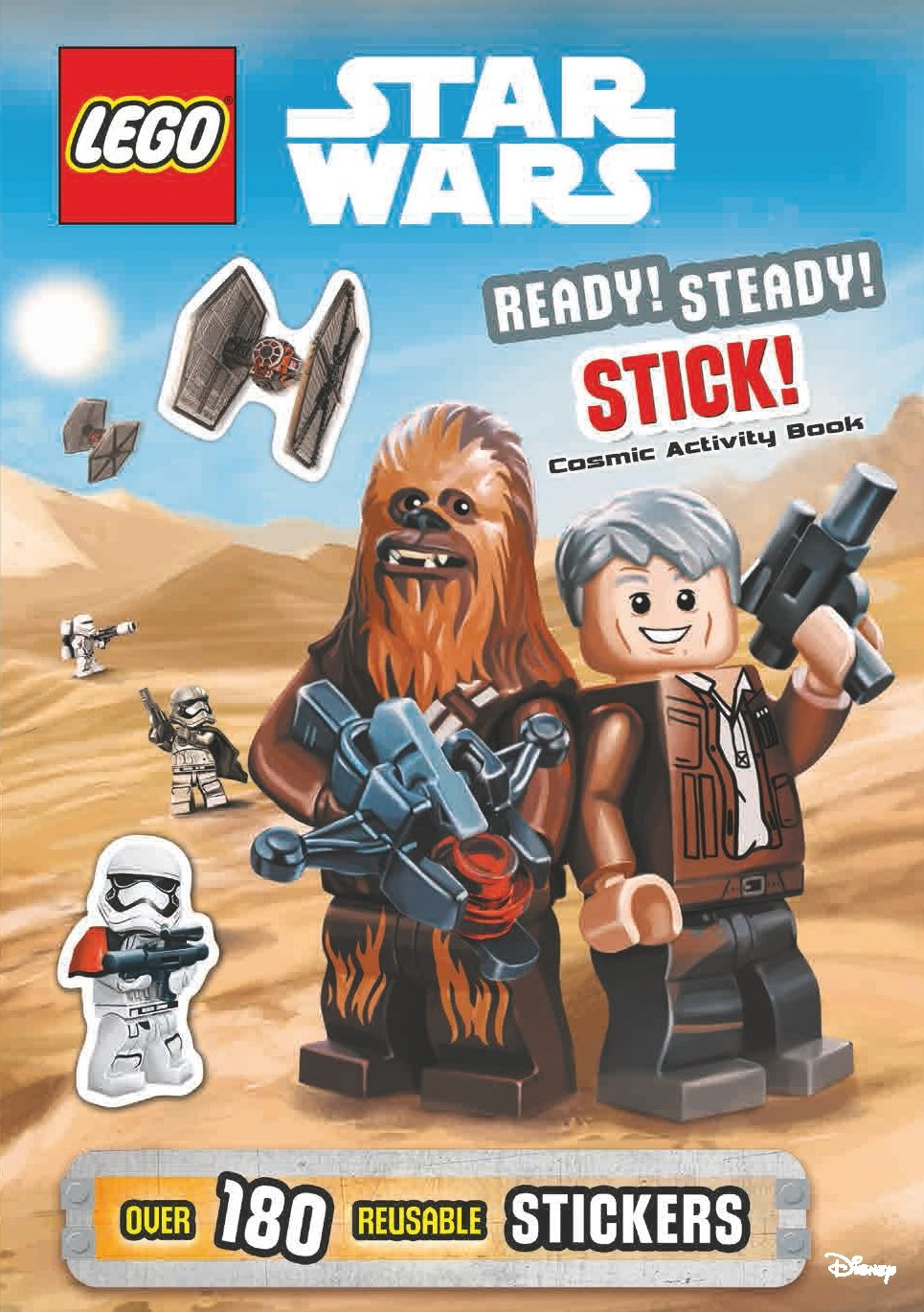 Lego Star Wars: Ready Steady, Stick! (Intergalactic Activity Book)