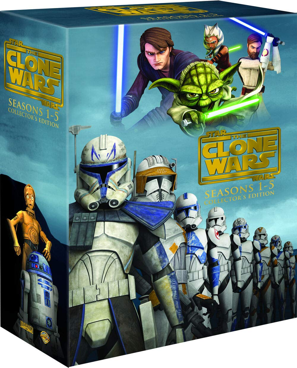Star Wars: The Clone Wars Seasons 1-5 Collector's Edition DVD