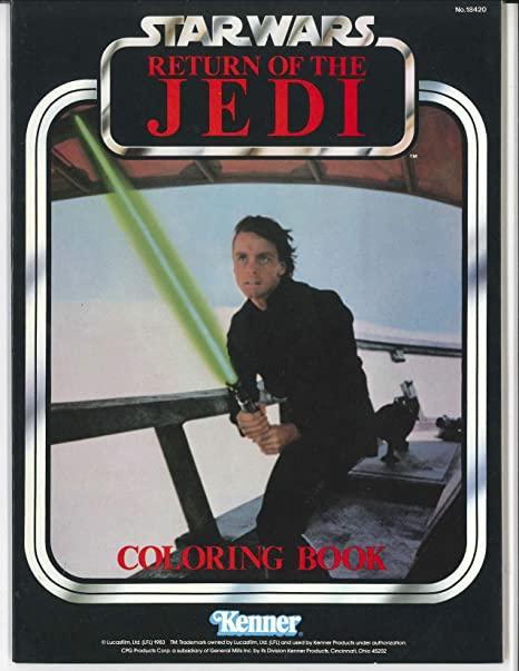 Star Wars: Return of the Jedi Coloring Book (Luke Skywalker)