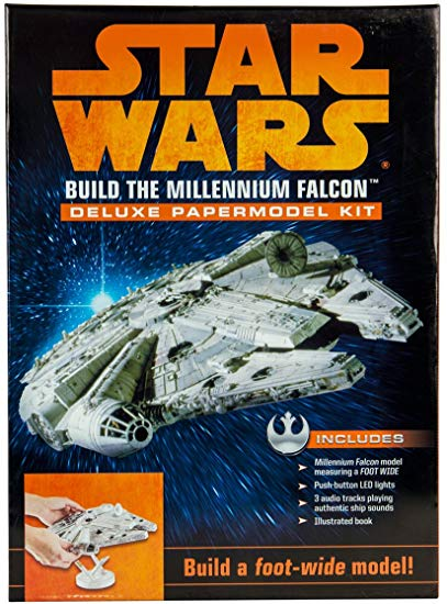 Star Wars: Build the Millennium Falcon Deluxe Paper Model Kit