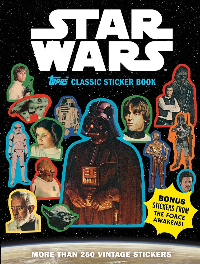 Star Wars: Topps Classic Sticker Book
