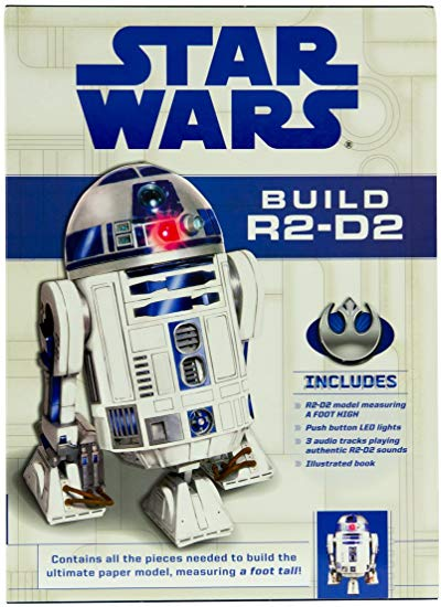 Star Wars: Build R2-D2 Deluxe Paper Model Kit