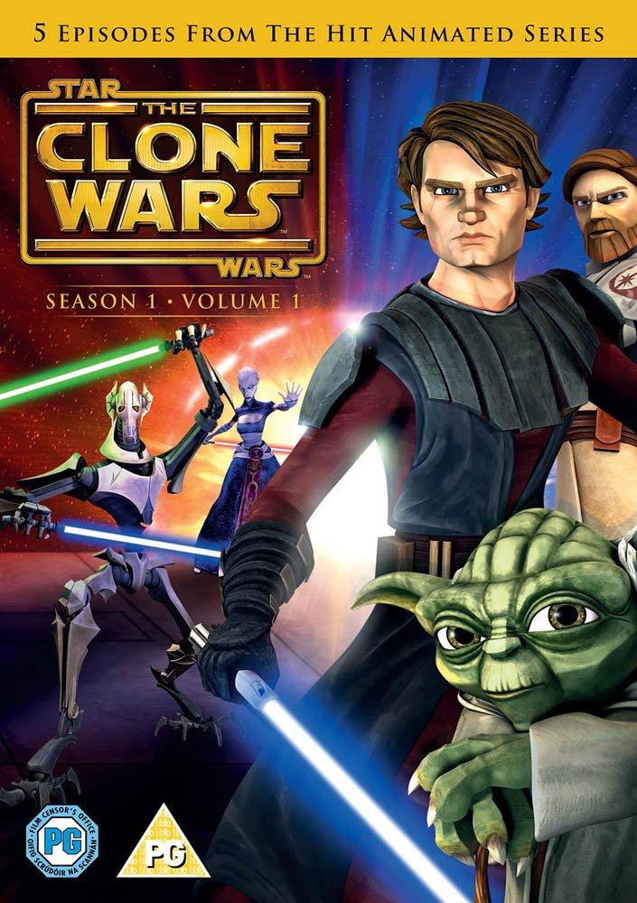Star Wars: The Clone Wars Season 1 Volume 1