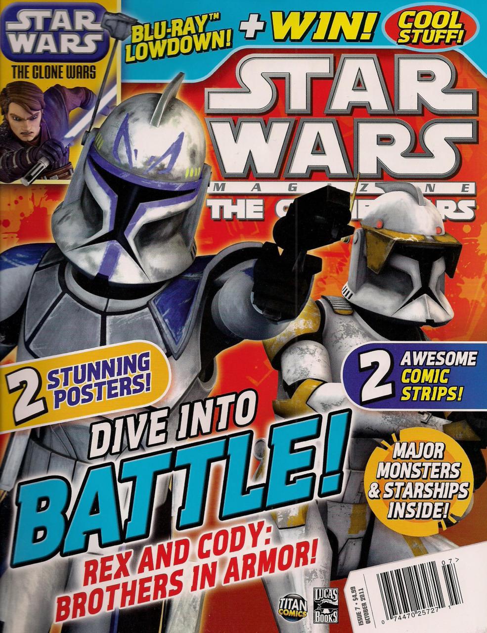 Star Wars The Clone Wars Magazine 7