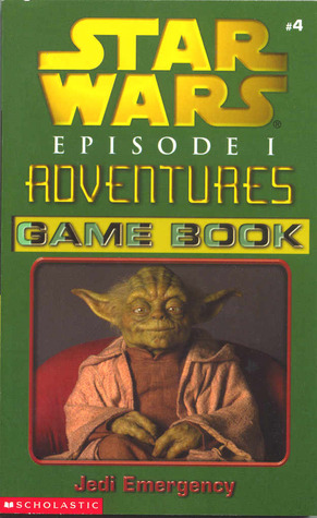 Star Wars Episode I Adventures Game Book: Jedi Emergency