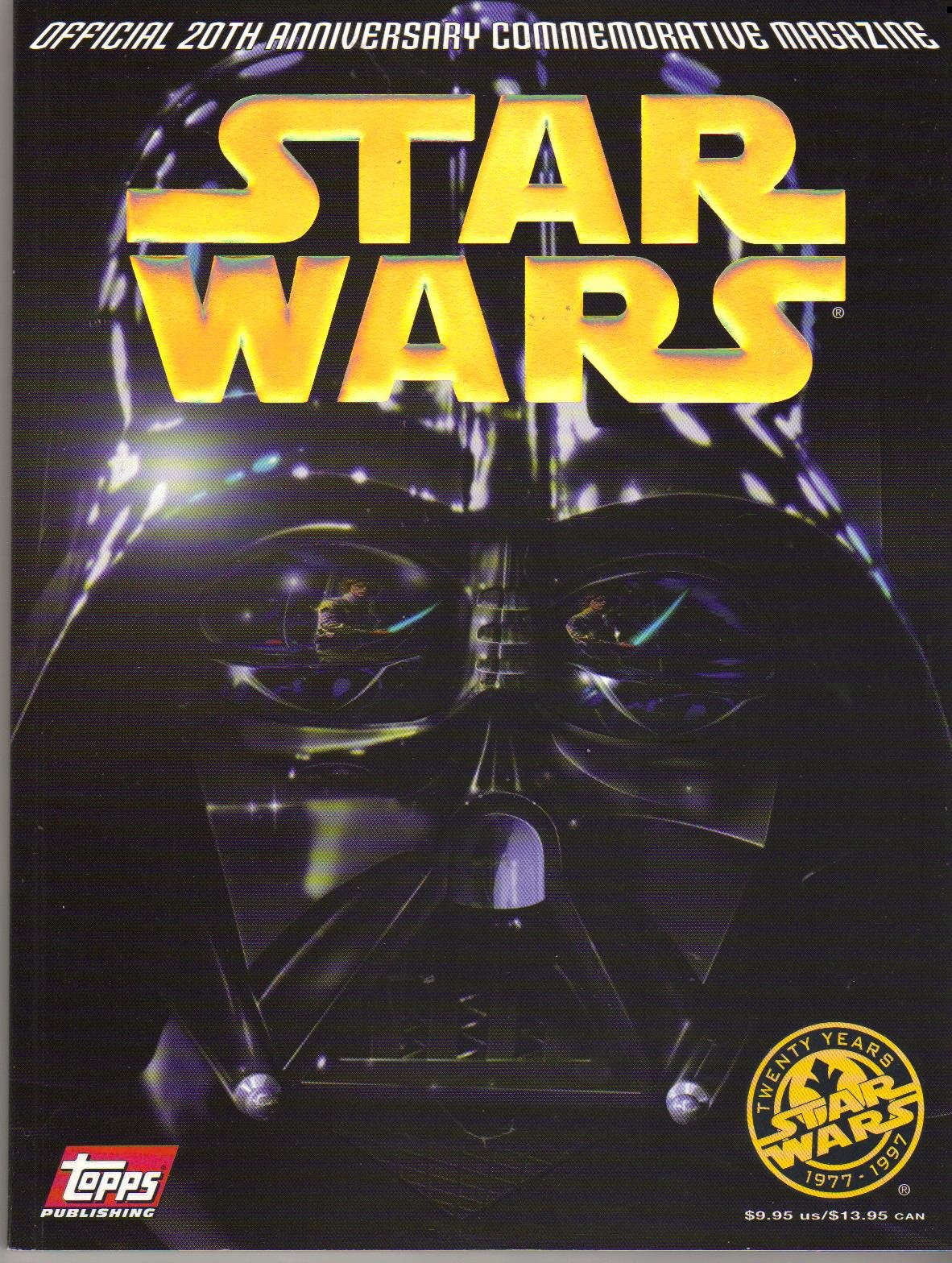 The Star Wars Official 20th Anniversary Commemorative Magazine
