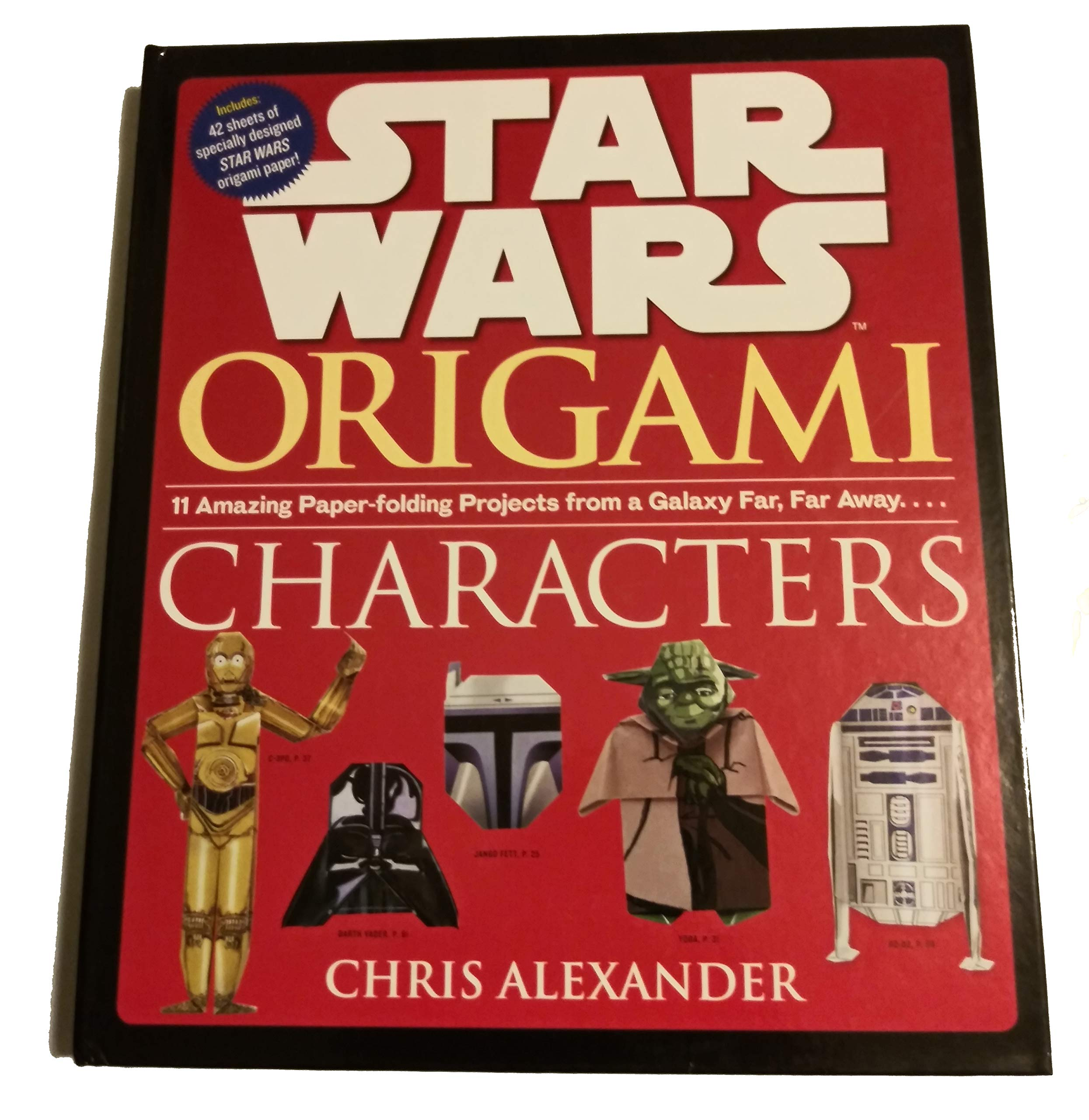 Star Wars Origami: Characters