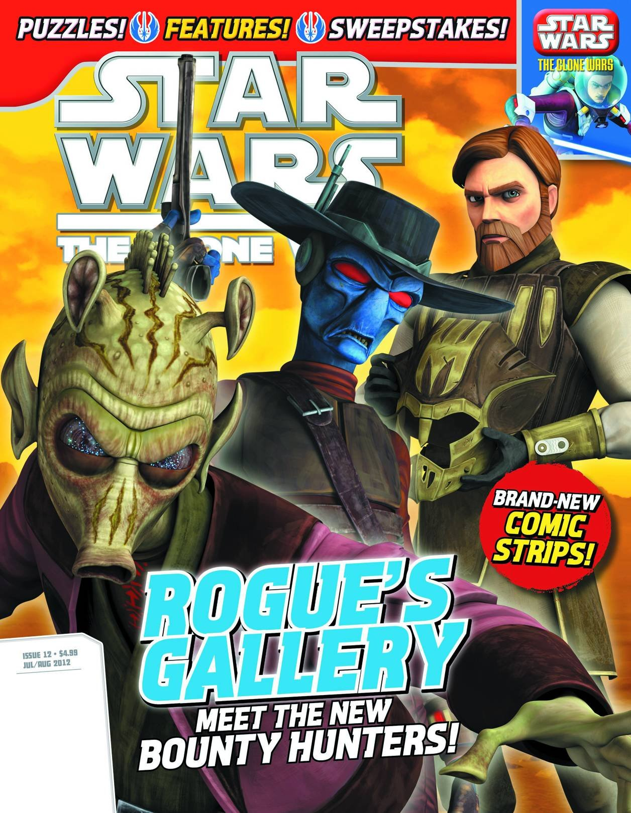 Star Wars The Clone Wars Magazine 12