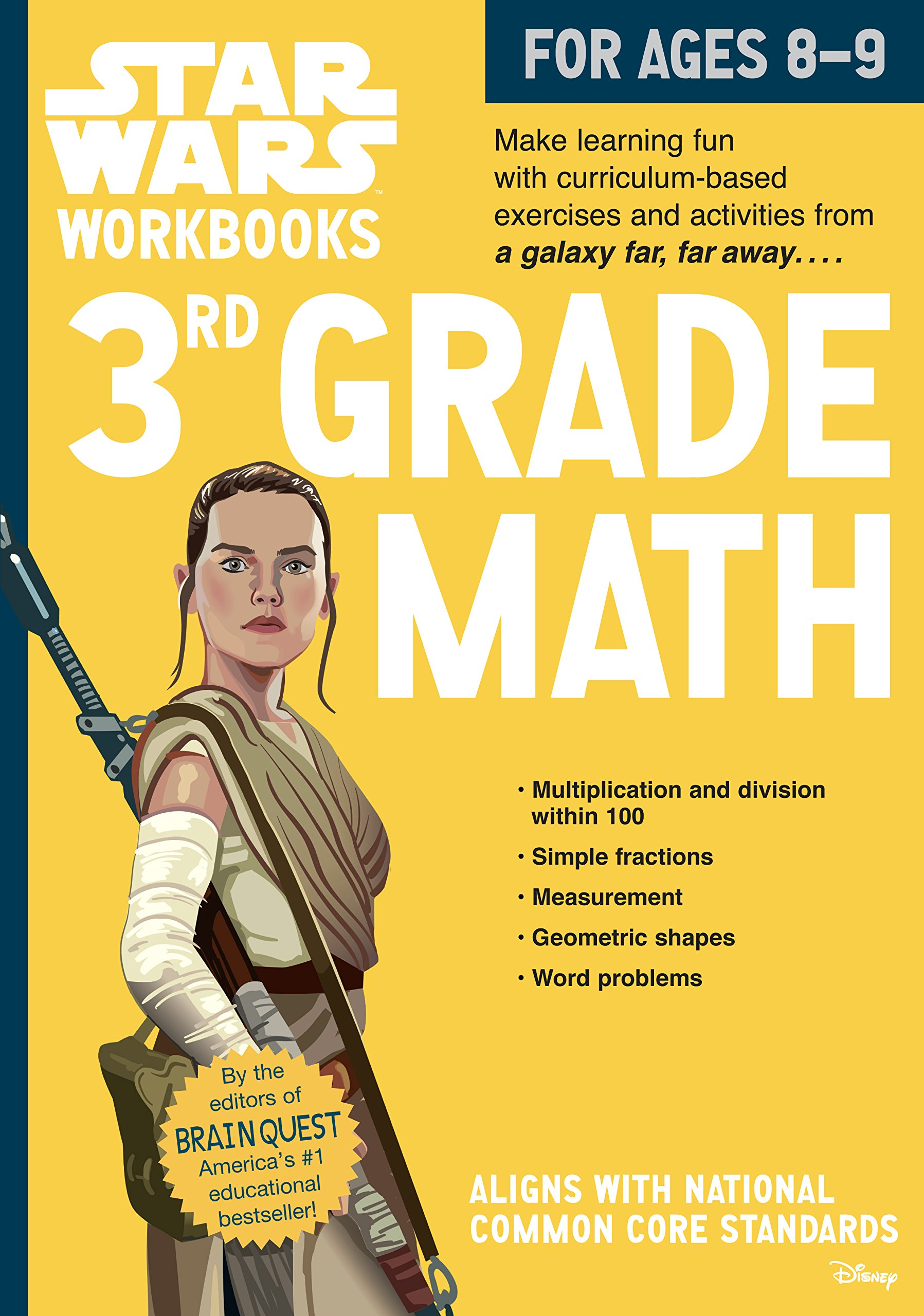 Star Wars Workbooks: 3rd Grade Math