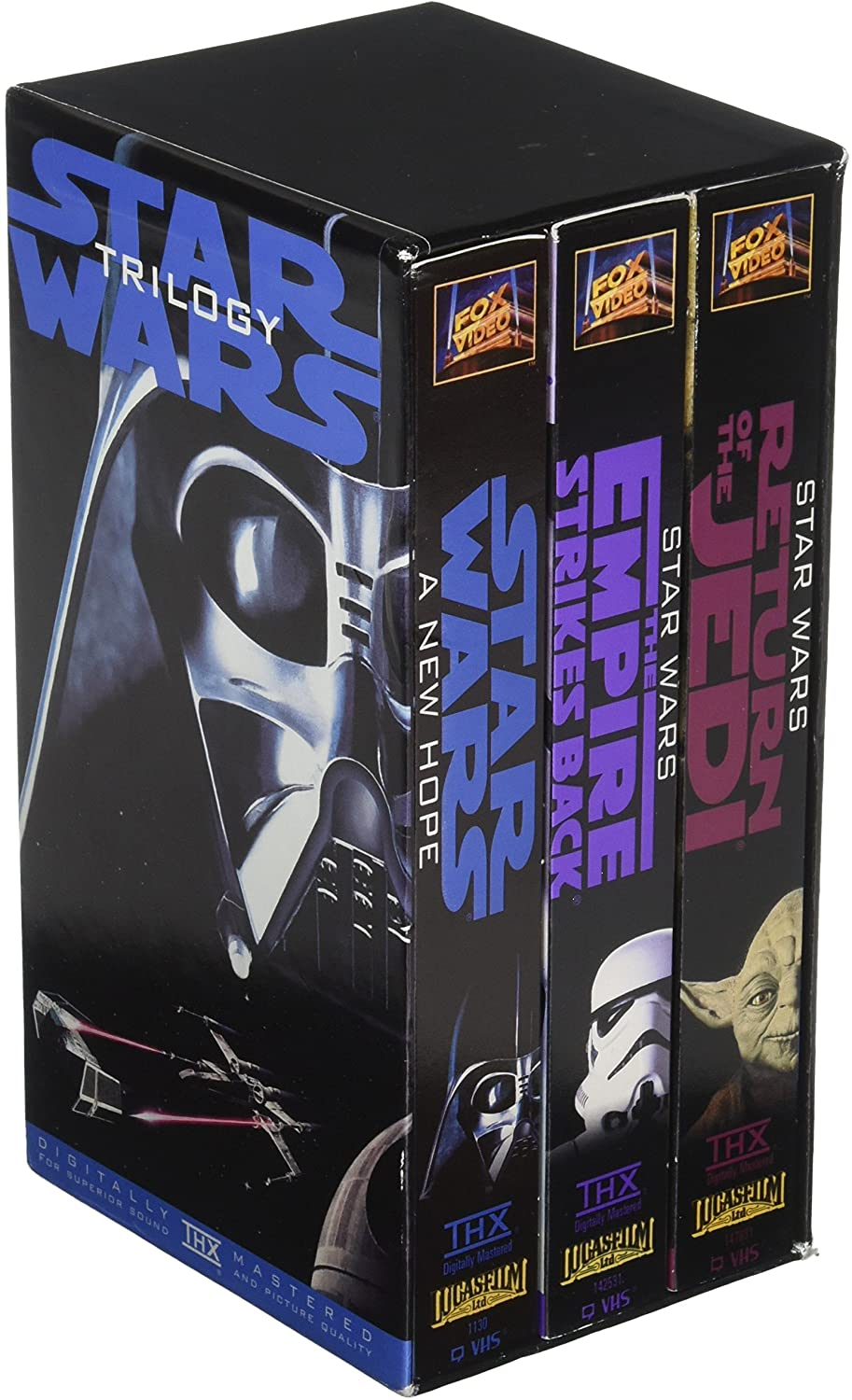 Star Wars Trilogy (THX Fullscreen VHS)
