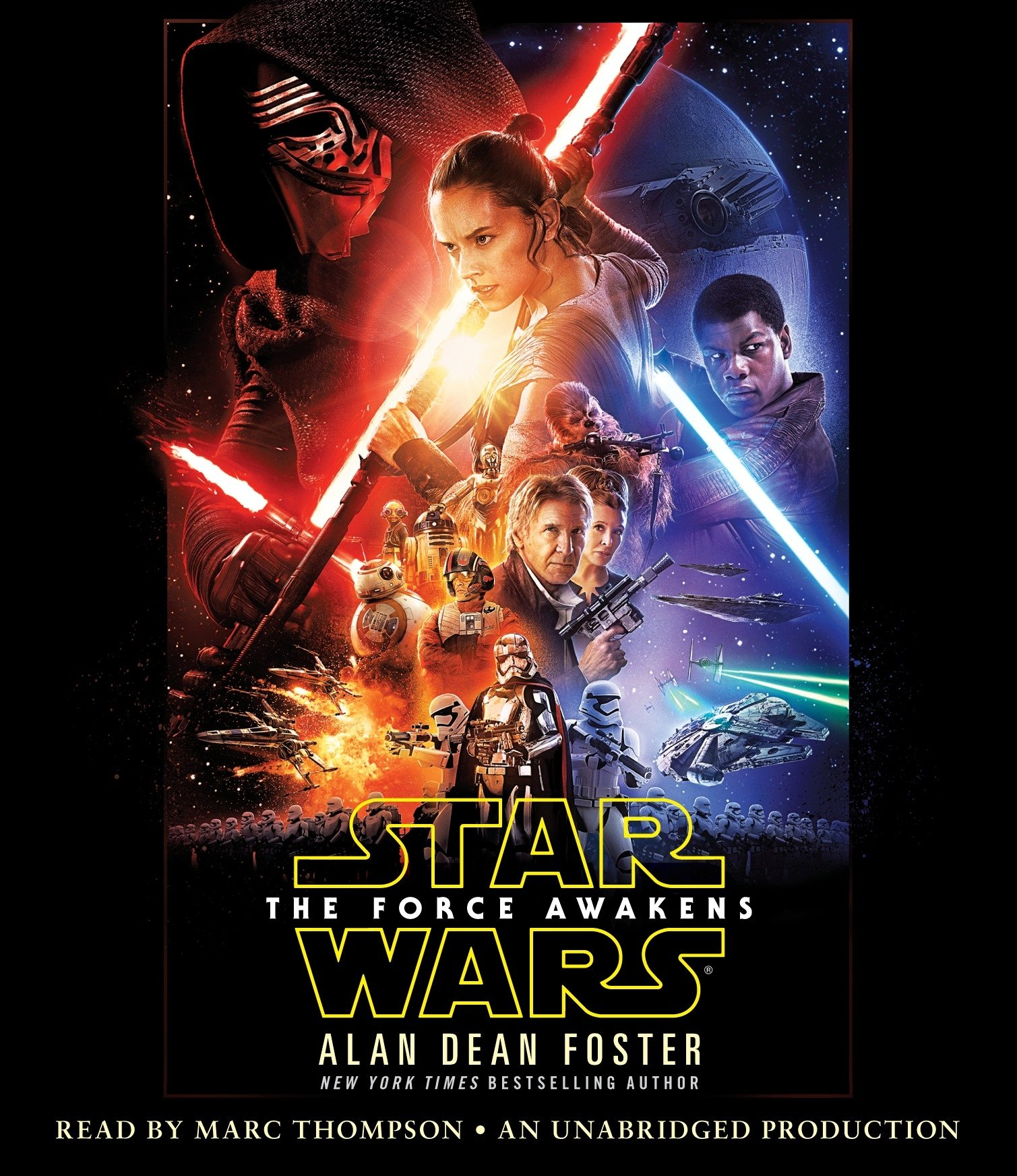 Star Wars: The Force Awakens (Audio Book)