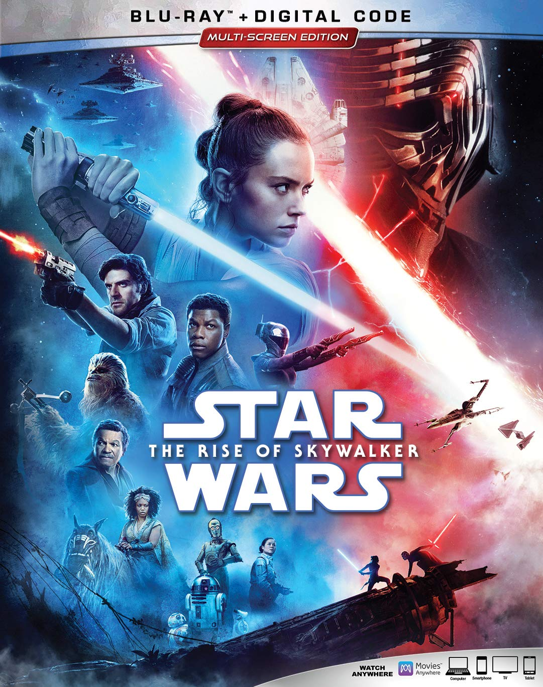 Star Wars: The Rise of Skywalker Blu Ray
