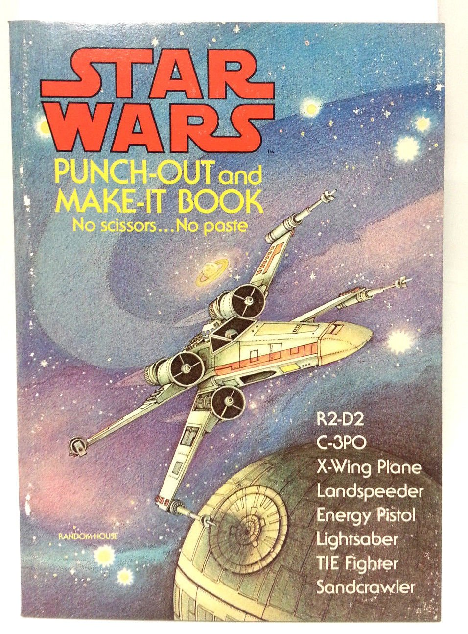 Star Wars Punch-Out and Make-It Book