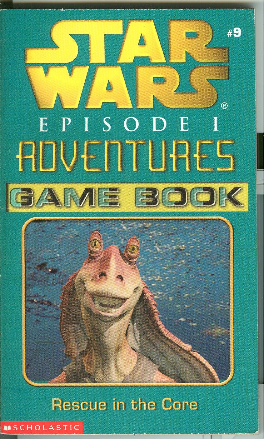 Star Wars Episode I Adventures Game Book: Rescue in the Core