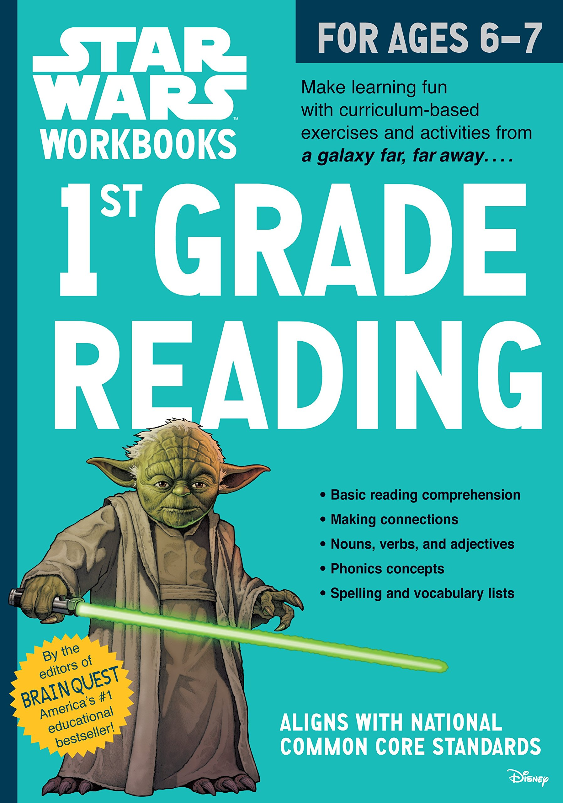Star Wars Workbooks: 1st Grade Reading