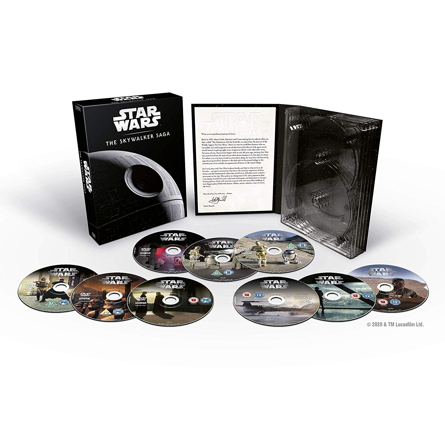 Star Wars: The Skywalker Saga (DVD)