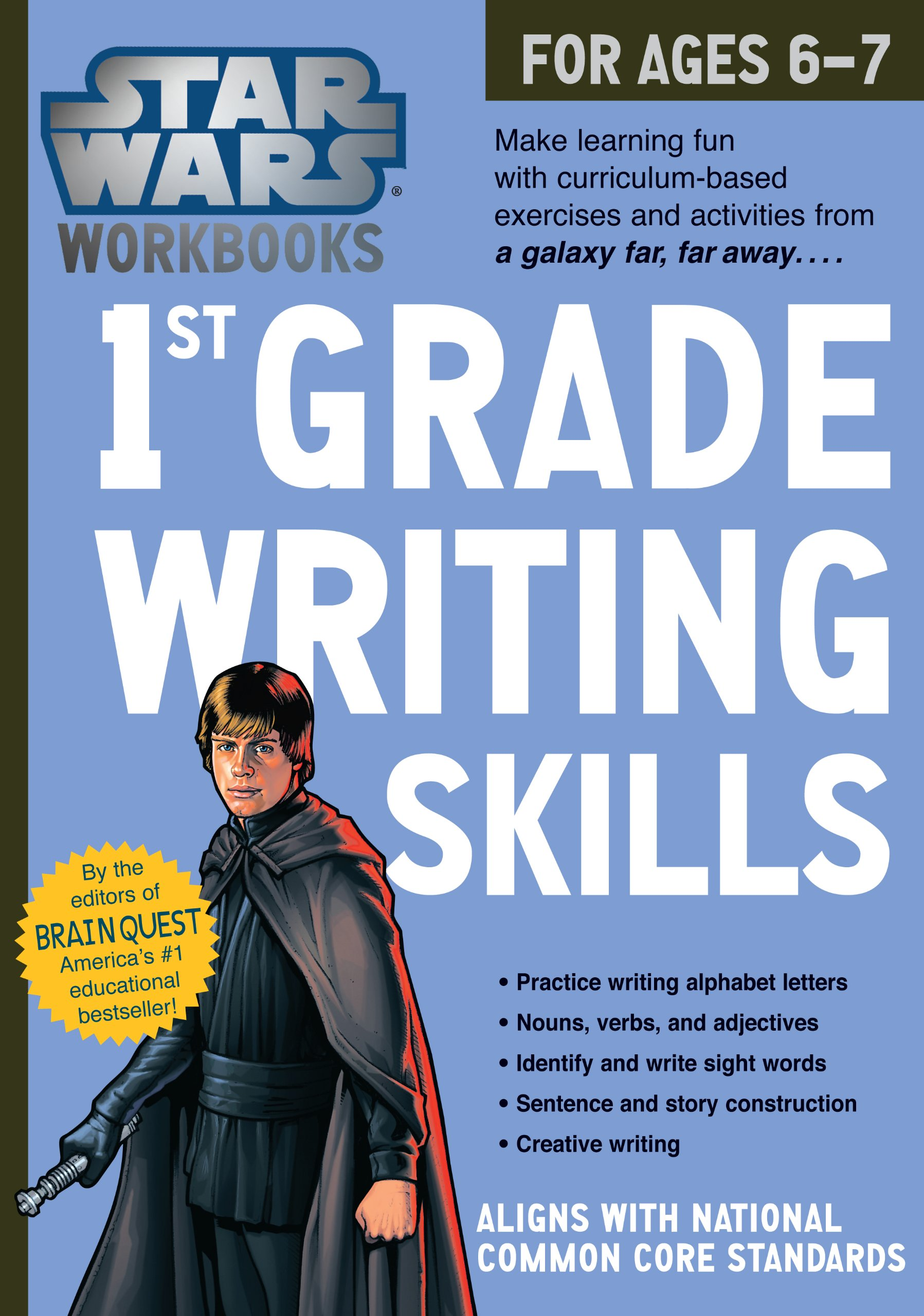 Star Wars Workbooks: 1st Grade Writing Skills