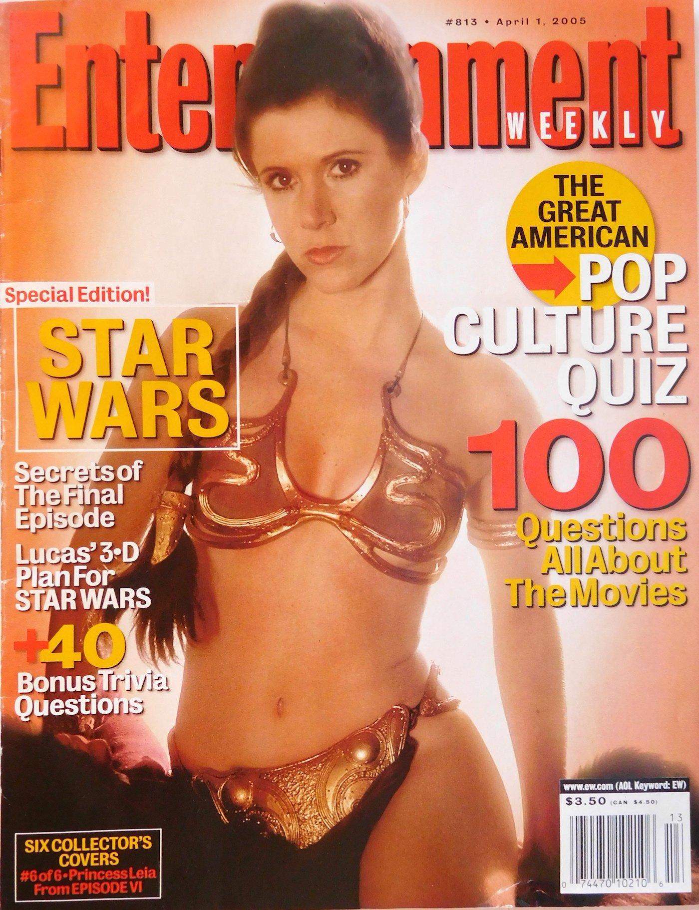 Entertainment Weekly April 1, 2005 (Princess Leia Cover)