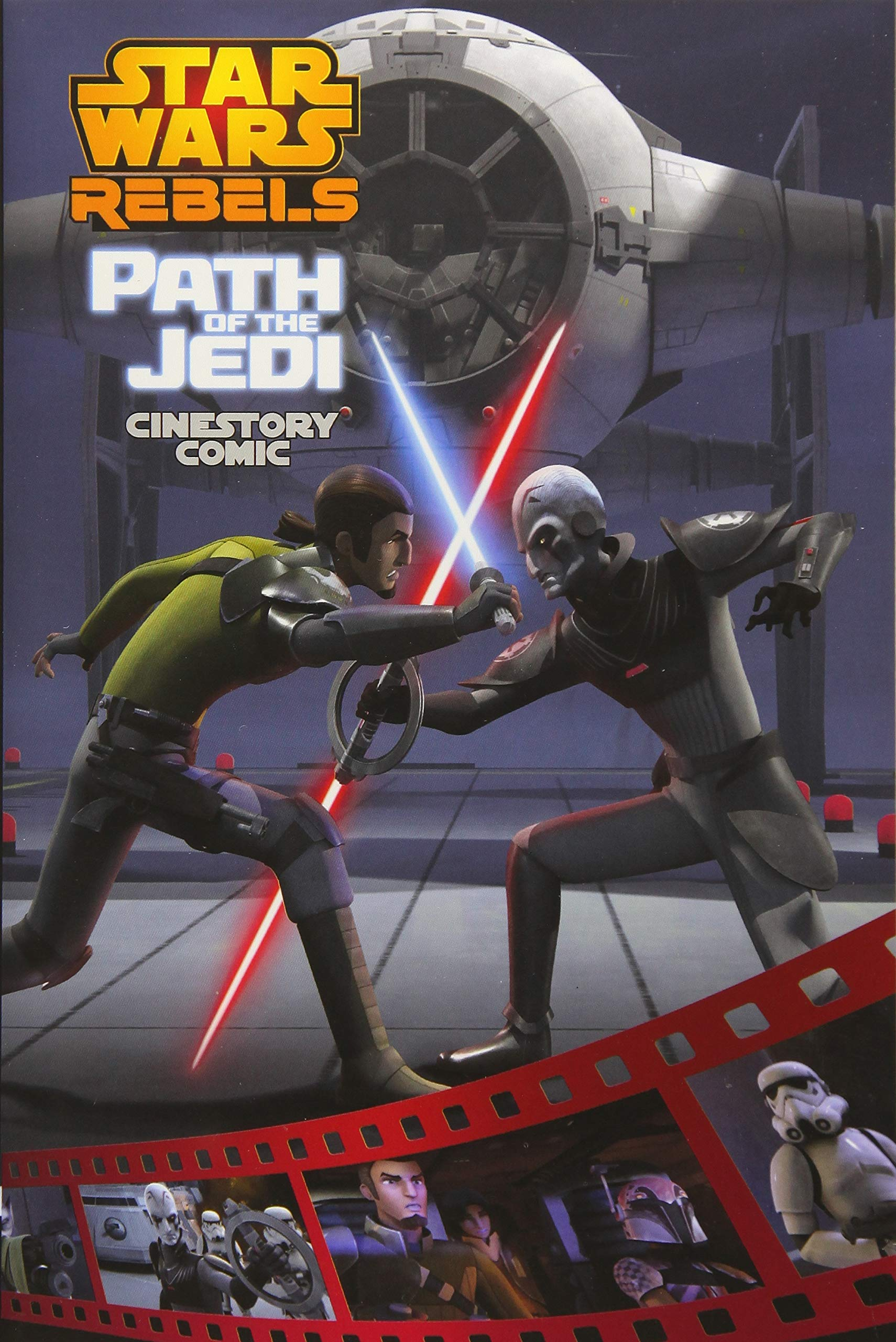 Star Wars Rebels: Path of the Jedi Cinestory Comic