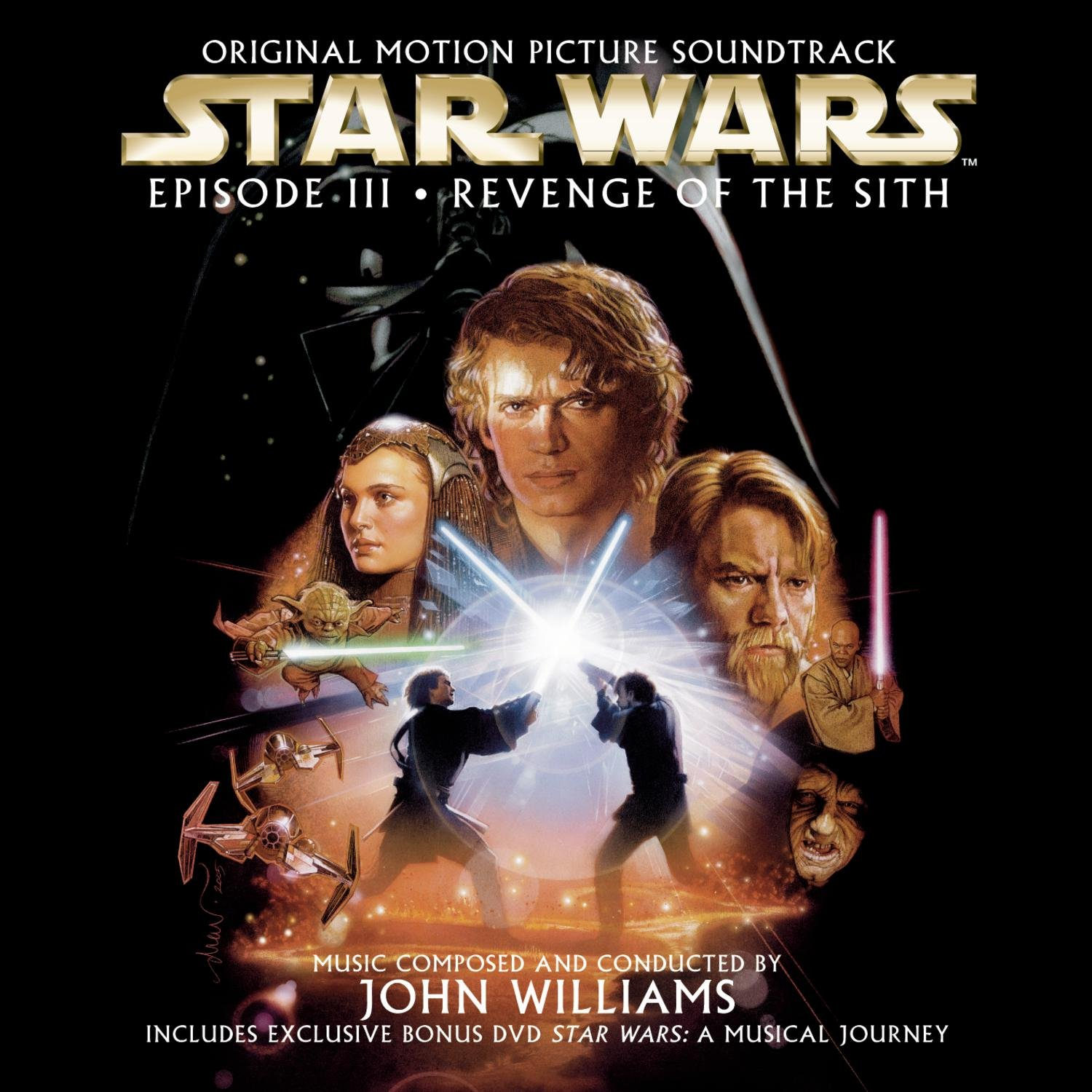 Star Wars Episode III: Revenge of the Sith Original Motion Picture Soundtrack (Record)