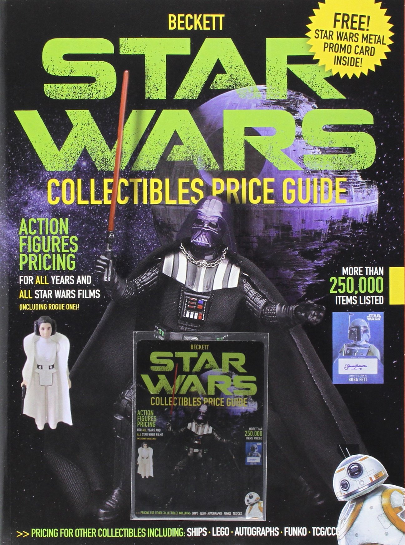 Beckett's Star Wars Collectibles Price Guide 2017