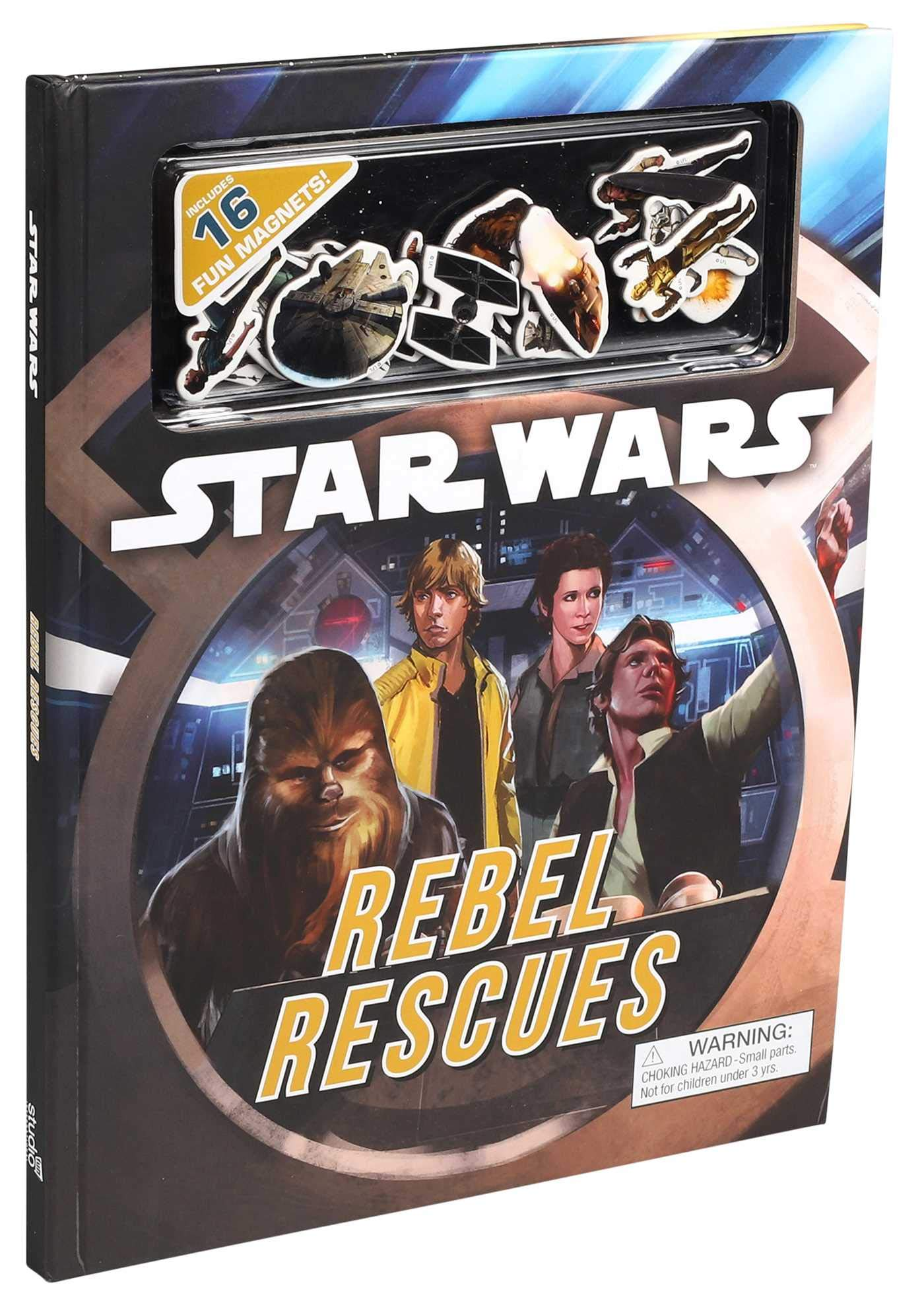 Star Wars Rebel Rescues: Magnetic Fun on Every Page