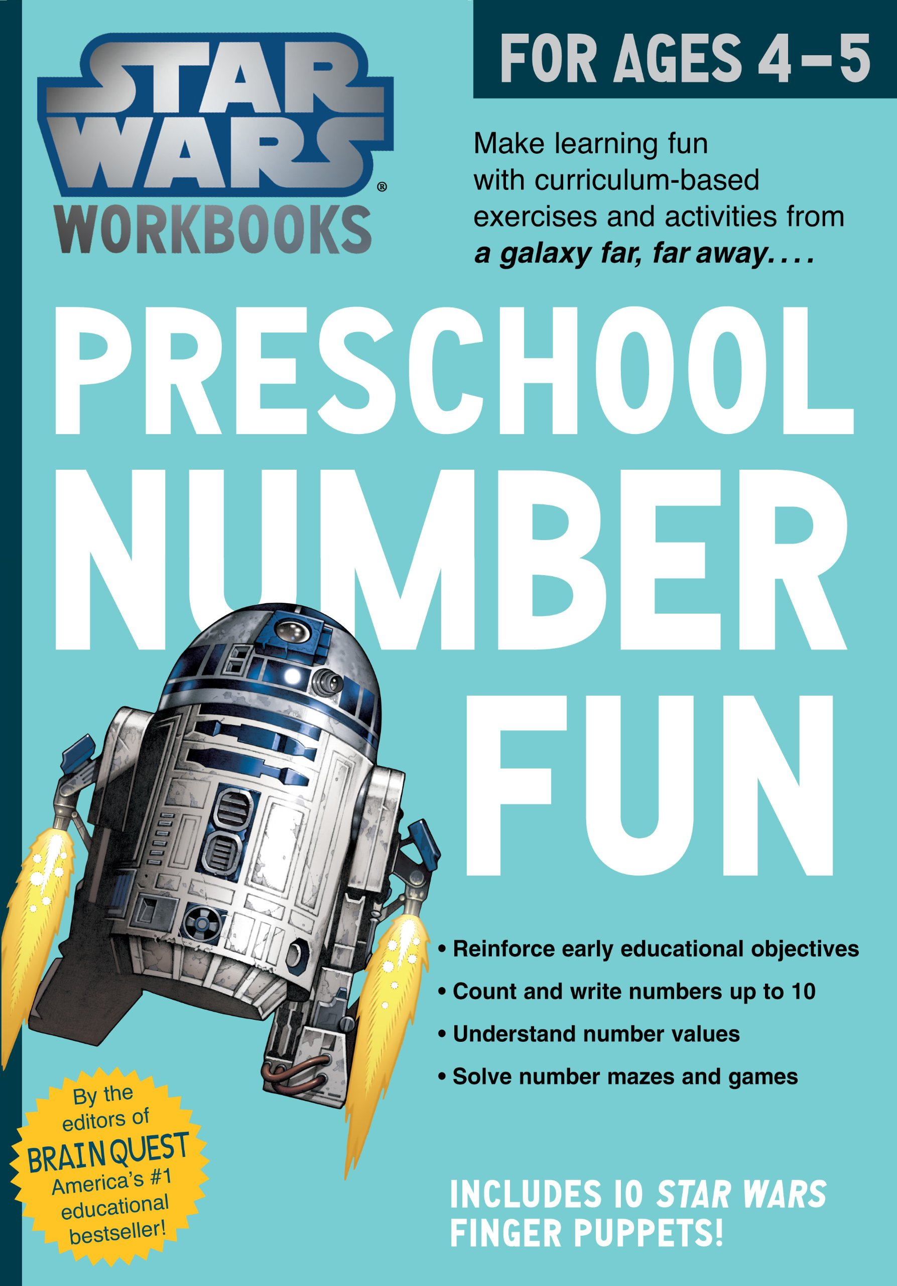 Star Wars Workbooks: Preschool Number Fun