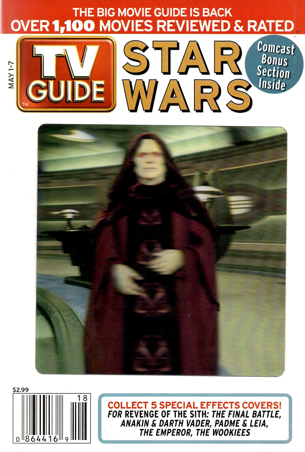 TV Guide May 1-7, 2005 (Palpatine)