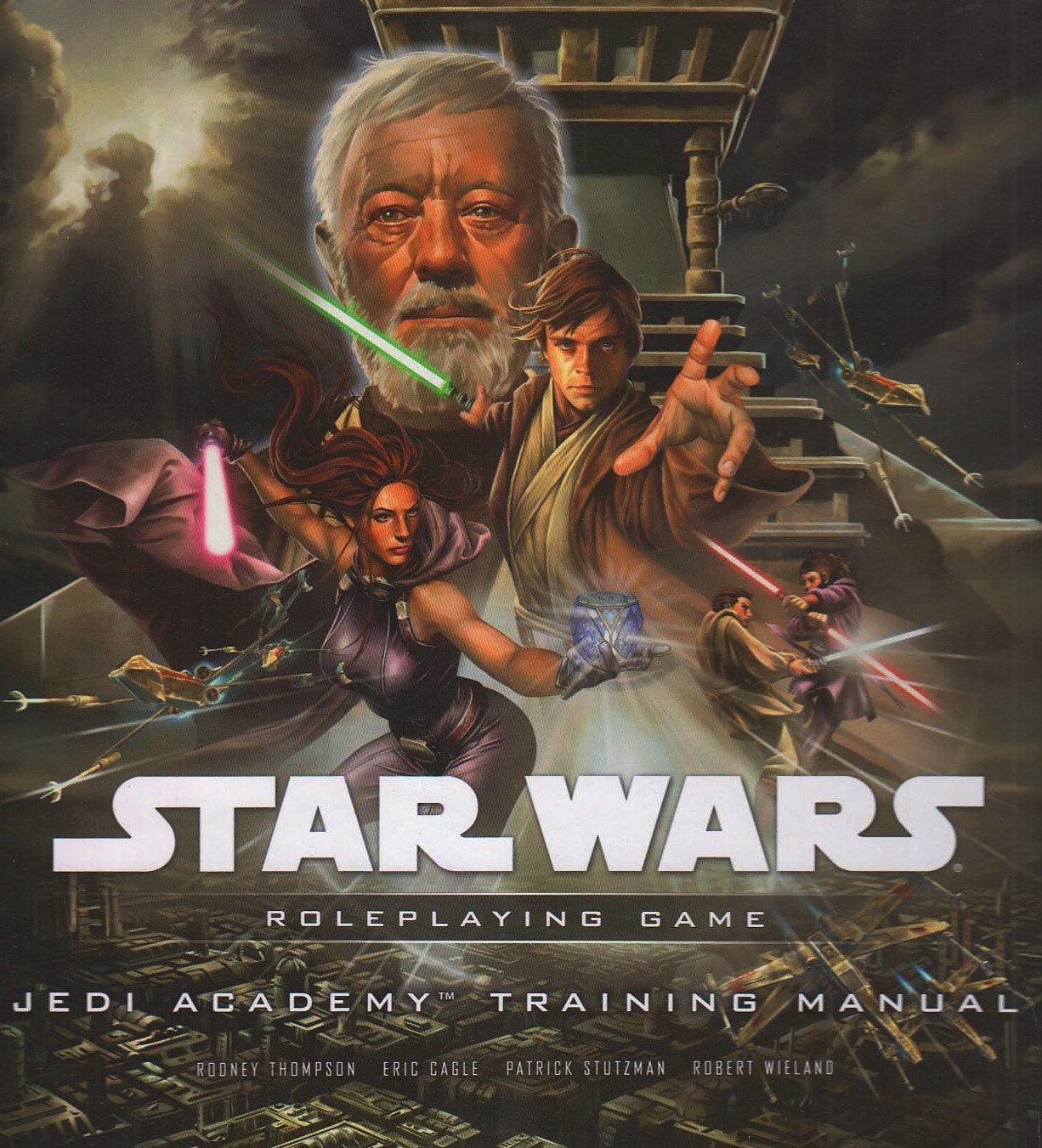 Star Wars: Jedi Academy Training Manual