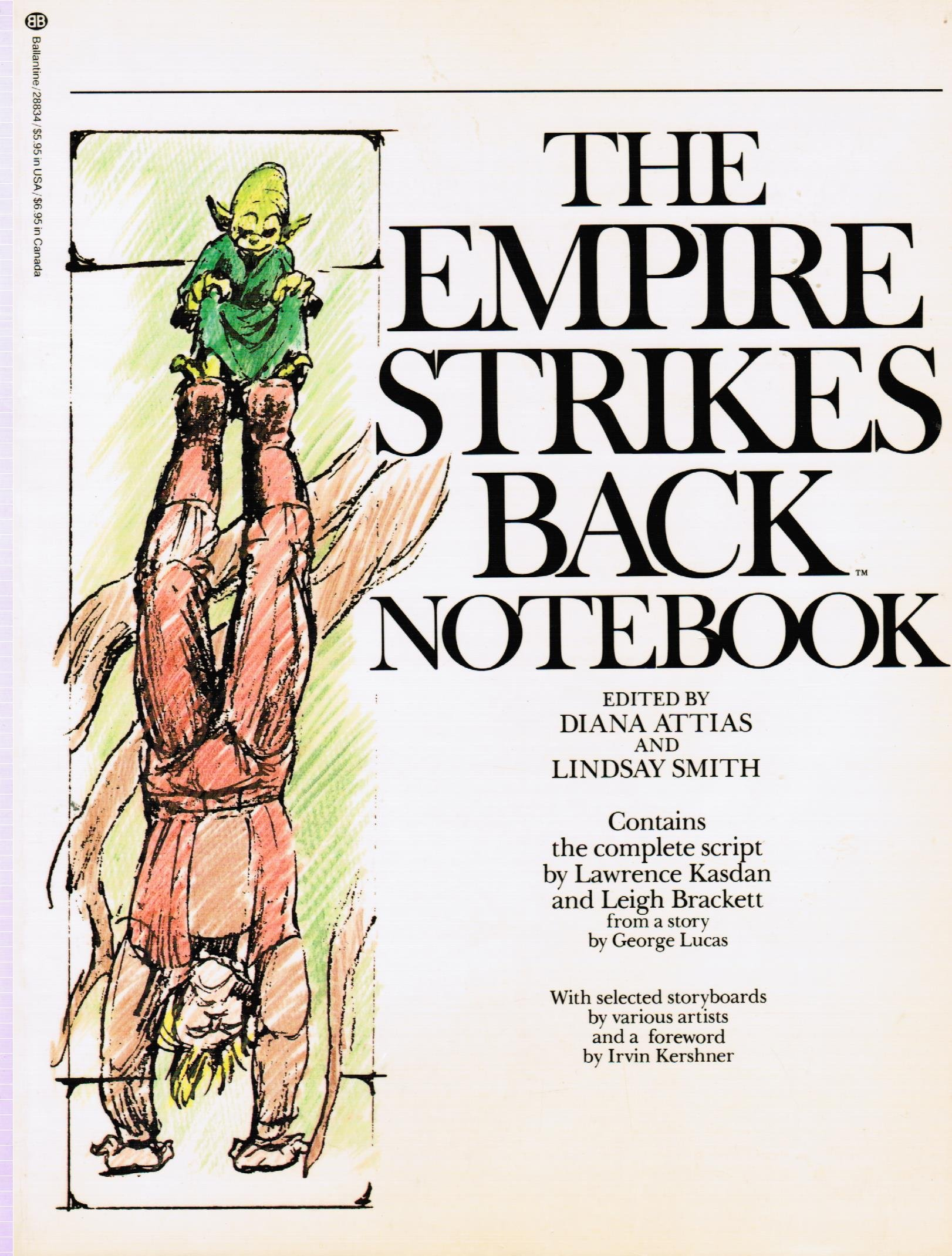 Star Wars Episode V: The Empire Strikes Back Screenplay