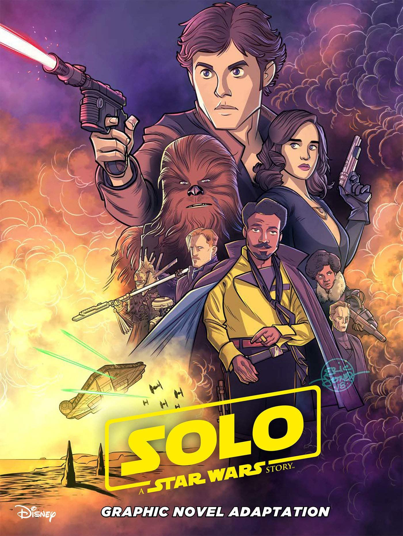 Solo: A Star Wars Story Junior Comic Adaptation