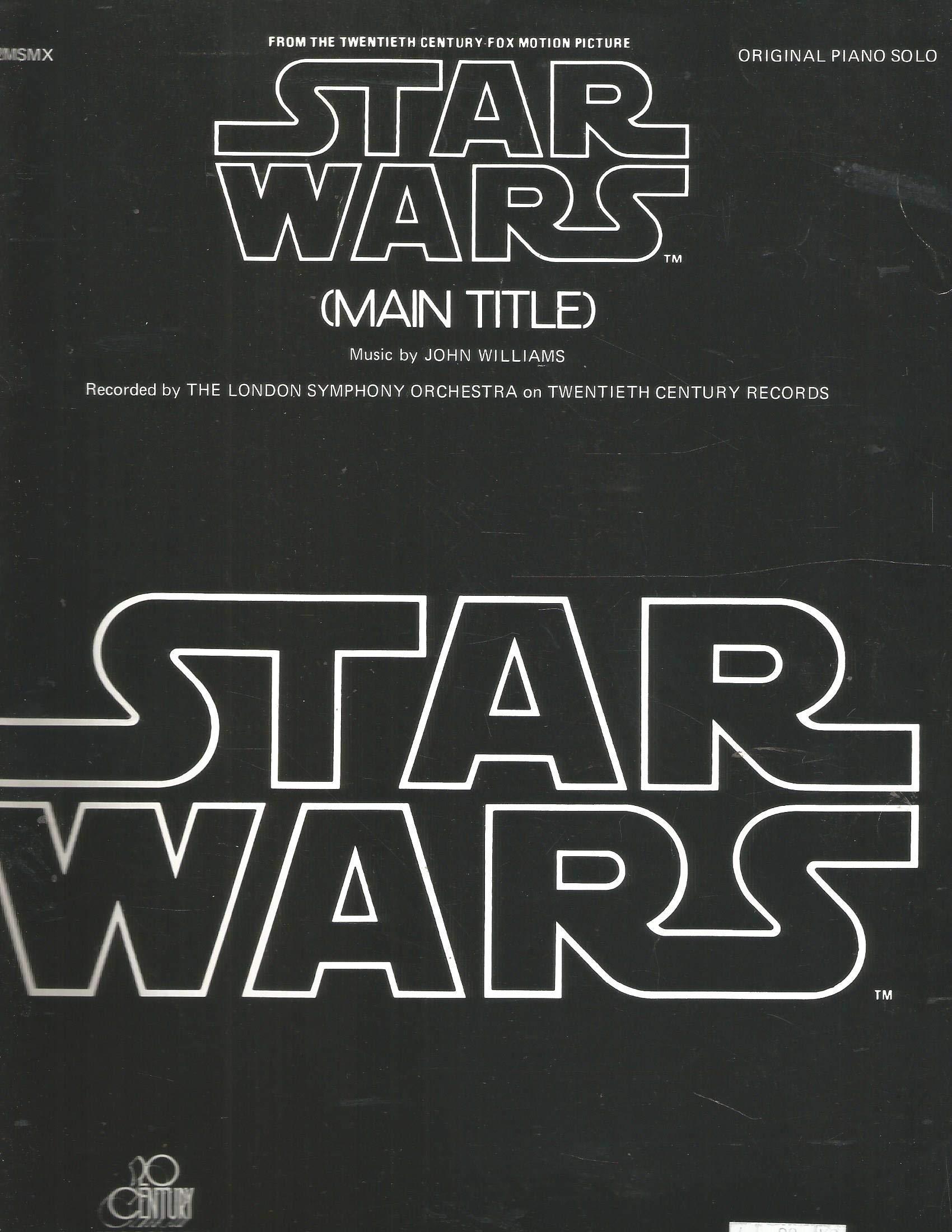 Star Wars Main Title (Original Piano Solo)