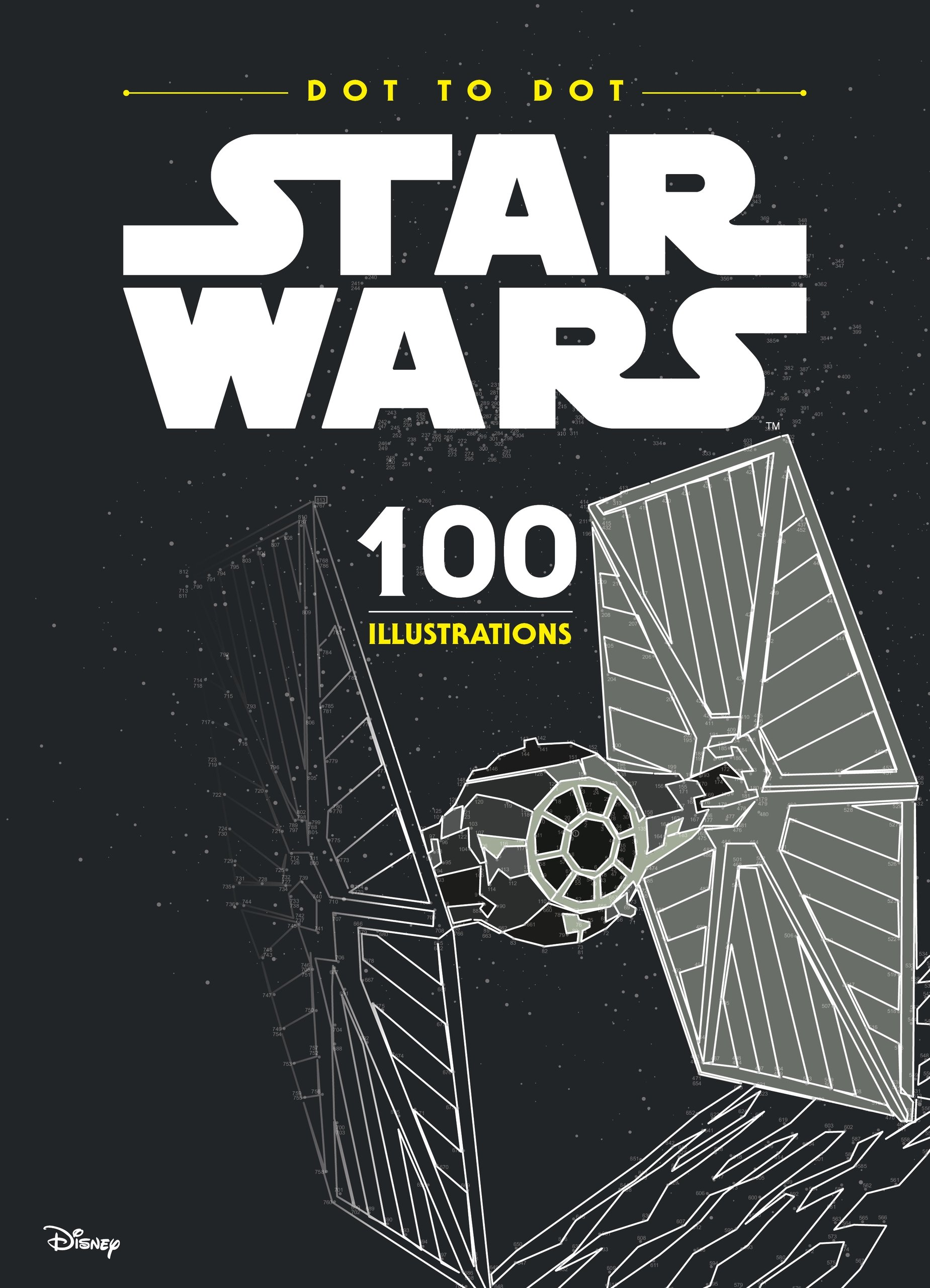 Star Wars Dot-to-Dot: 100 Illustrations