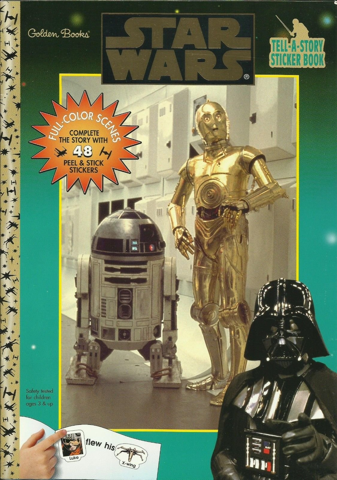 Star Wars Tell-a-Story Sticker Book