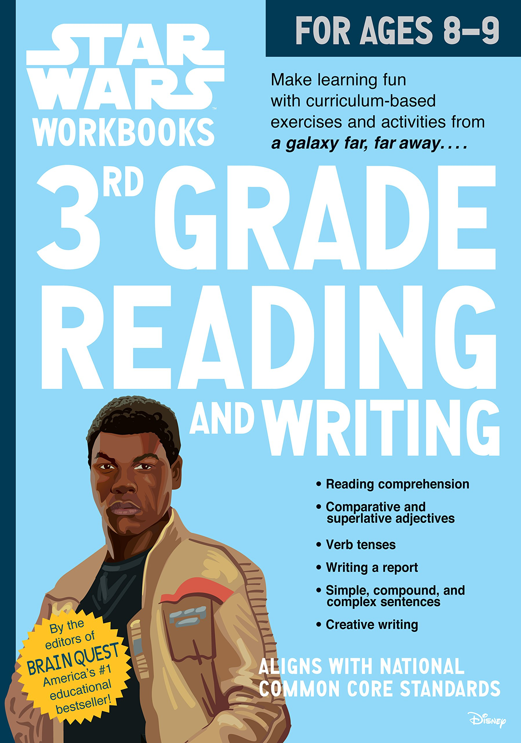 Star Wars Workbooks: 3rd Grade Reading and Writing