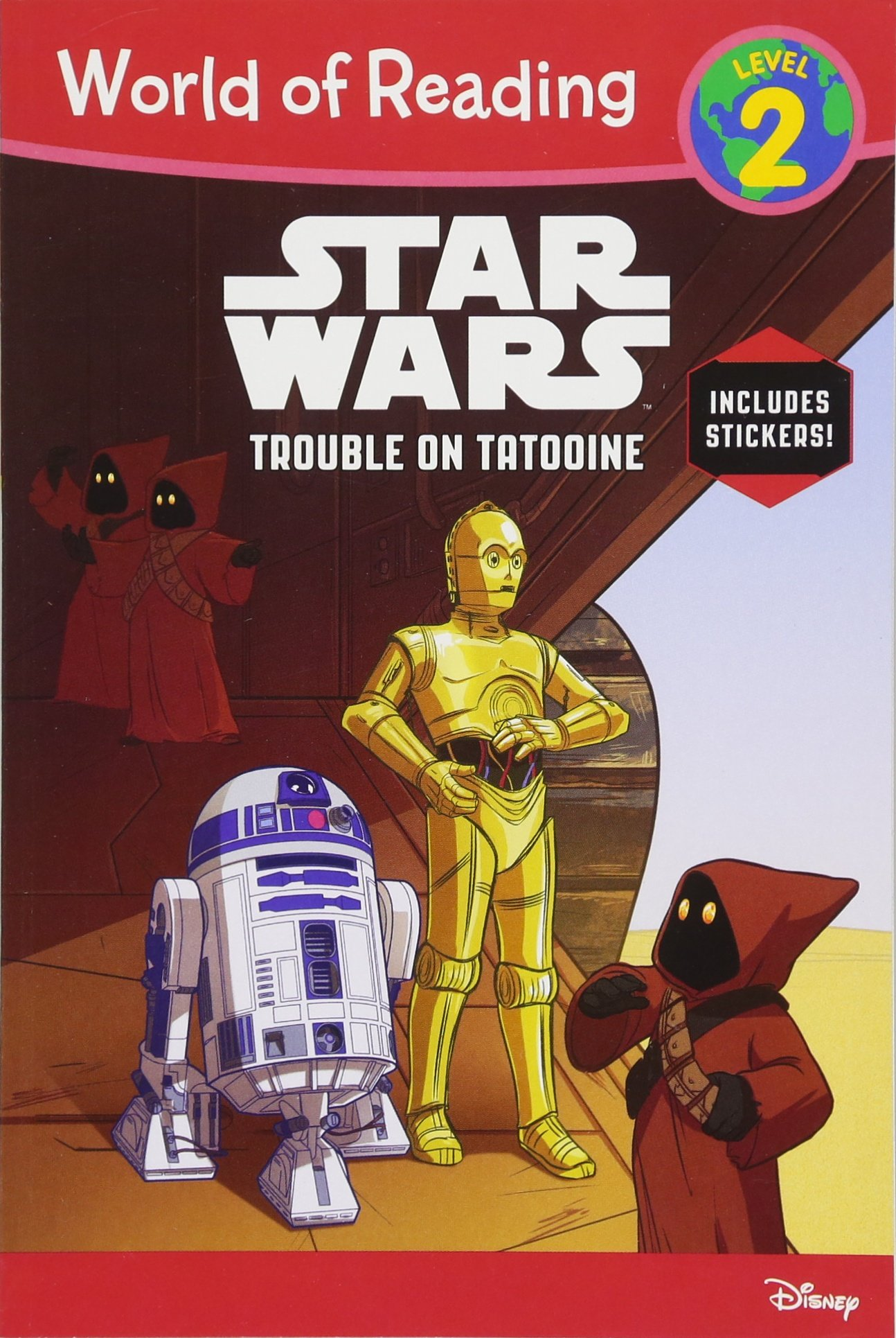 Star Wars: Trouble on Tatooine (World of Reading)