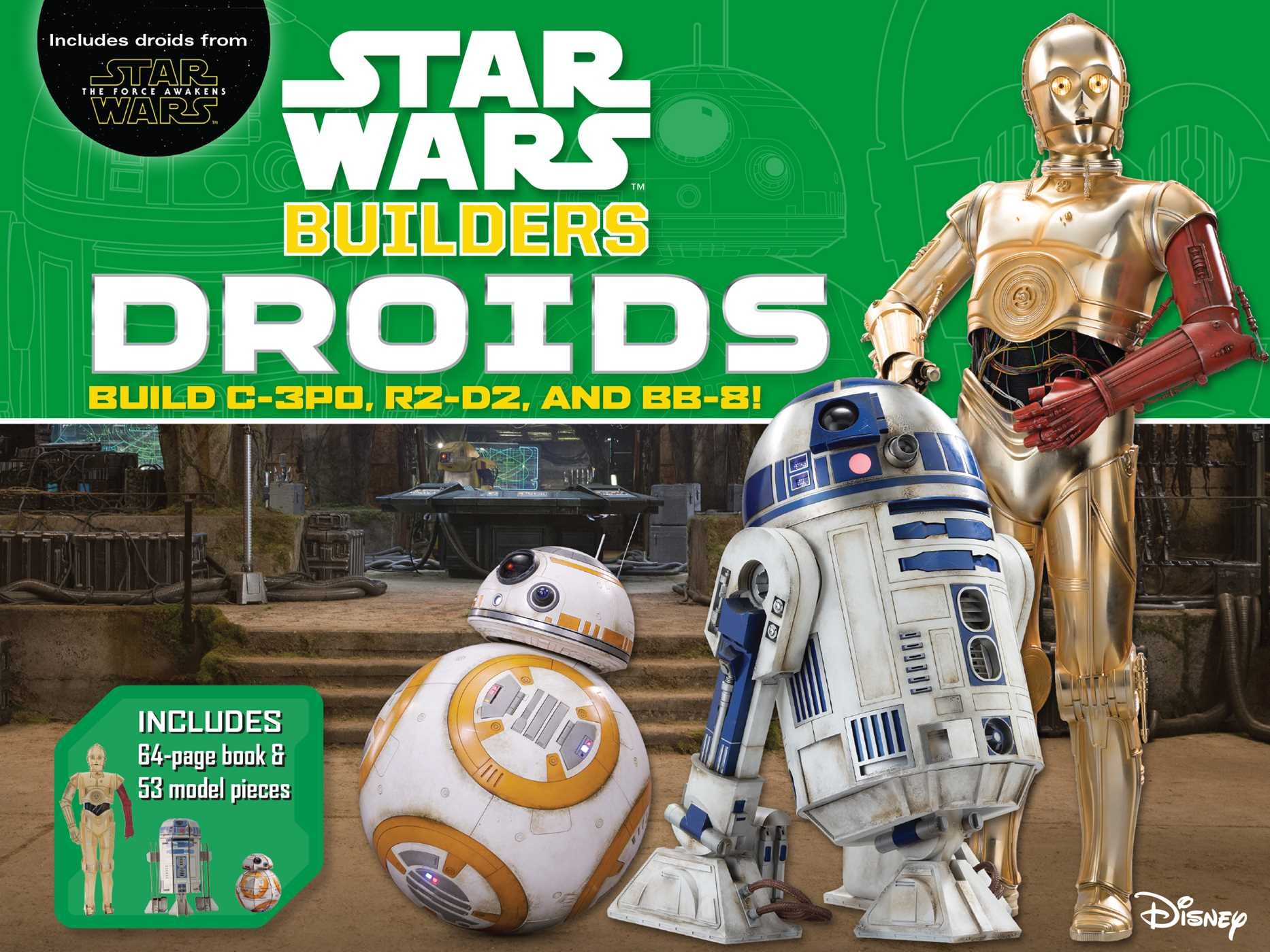 Star Wars Builders: Droids (Build R2-D2, C-3PO, and BB-8)